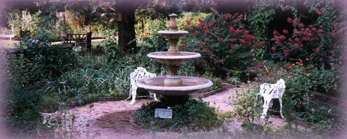 our beautiful fountain at Magnolia Oaks, Columbus Texas